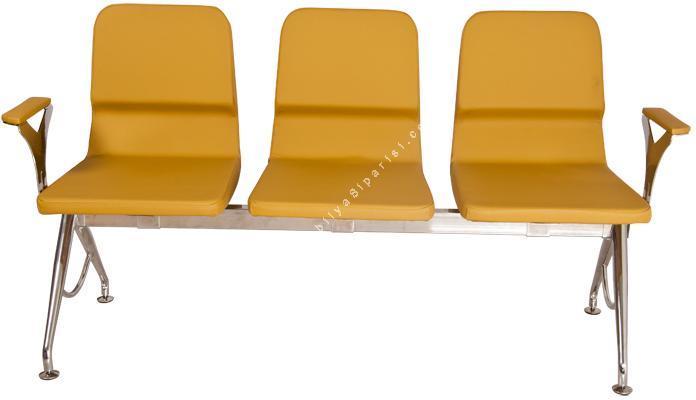 arton modern üçlü bekleme koltuğu