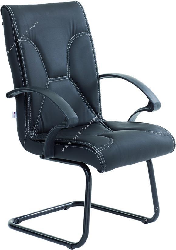 corner plastik sabit ayaklı misafir koltuğu
