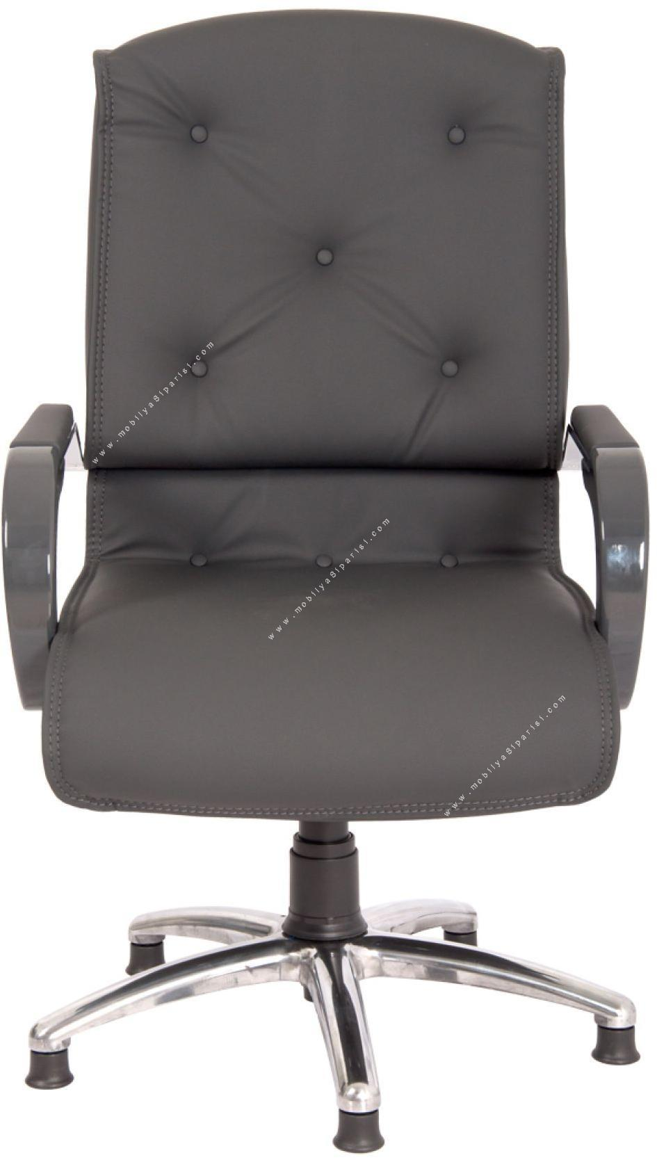 divares krom yıldız ayaklı misafir koltuğu