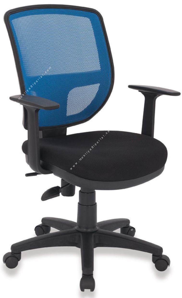 era plastik fileli çalışma koltuğu