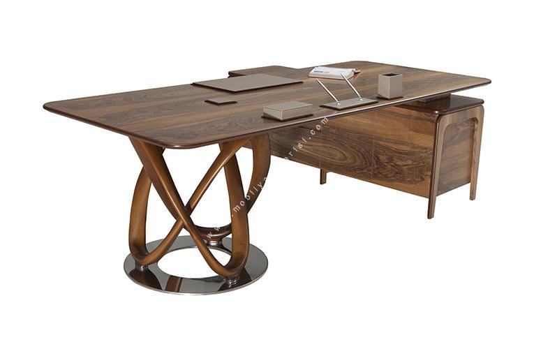 eregon ahşap makam masası