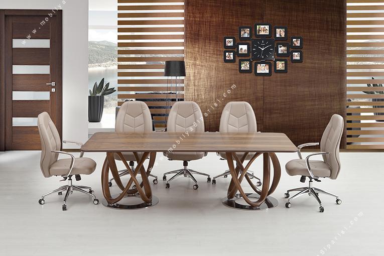 eregon ahşap makam toplantı masası