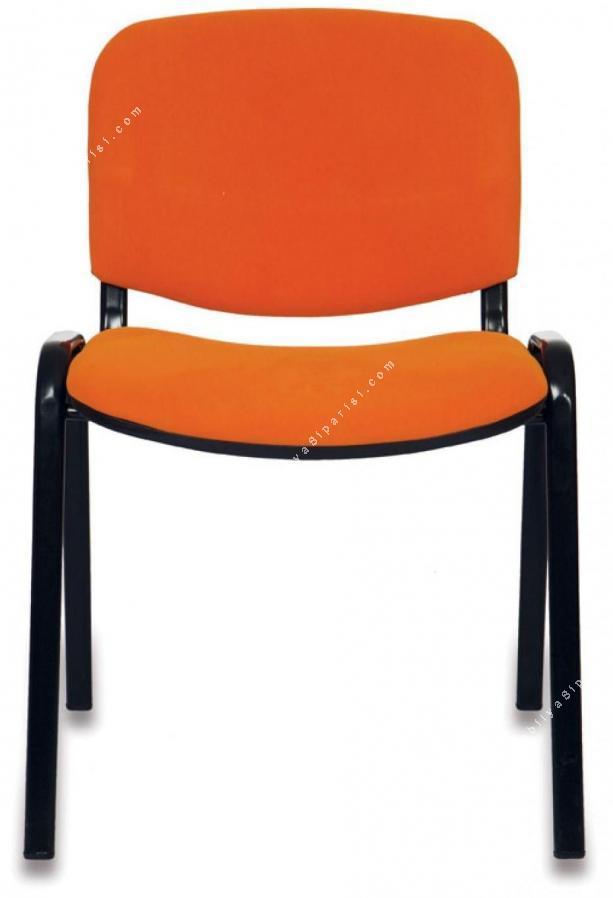 form boyalı ayaklı kolsuz sandalye