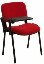 form kollu yazı tablalı sandalye