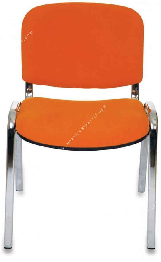 form krom dört ayaklı sandalye