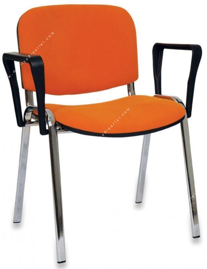 form krom kollu sandalye