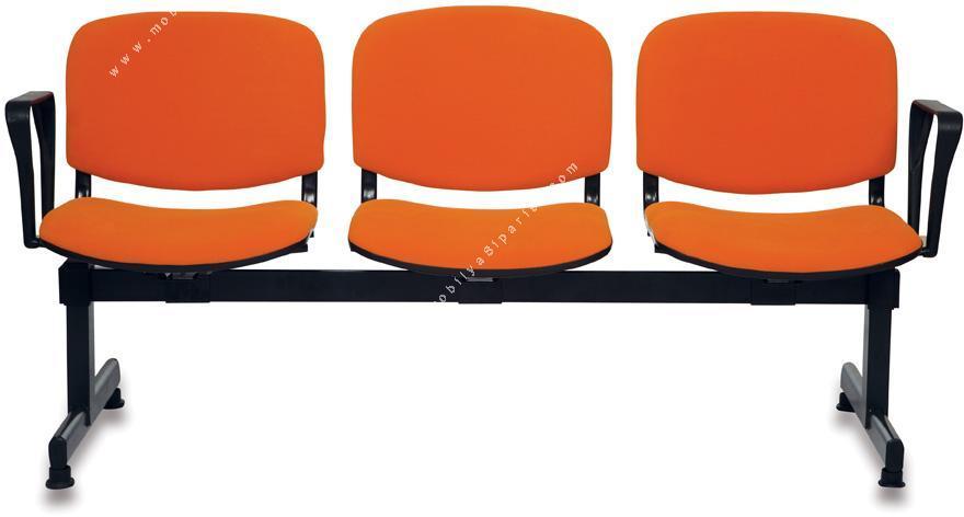 form üçlü bekleme koltuğu
