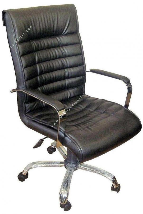 londer krom ofis yönetici koltuğu