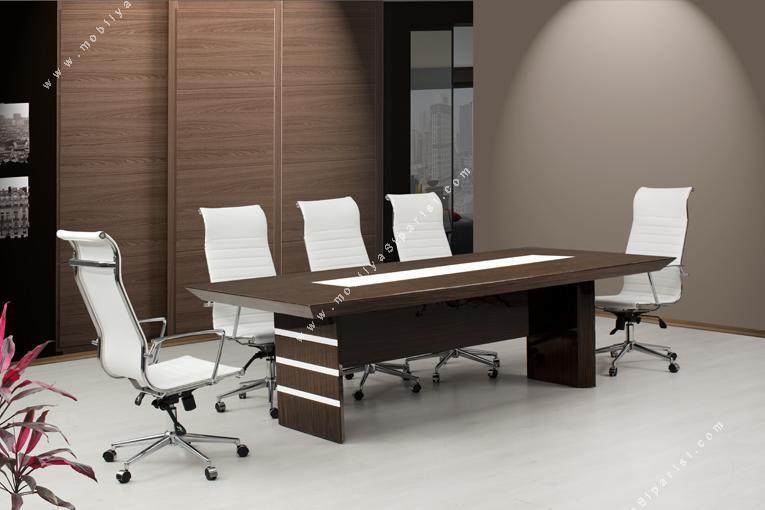 magnesia ahşap toplantı masası