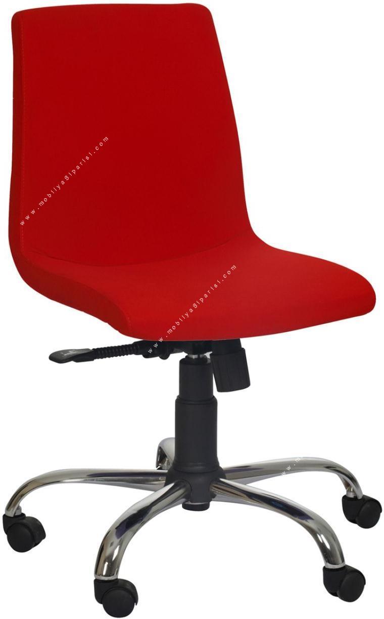 mini kolsuz sekreter koltuğu