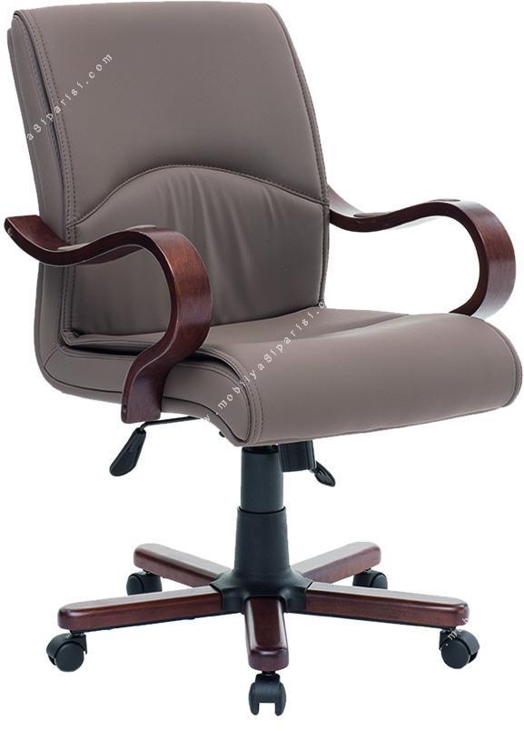 montrieal ahşap çalışma koltuğu