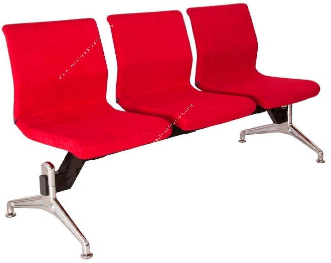 monza kolsuz üçlü bekleme koltuğu