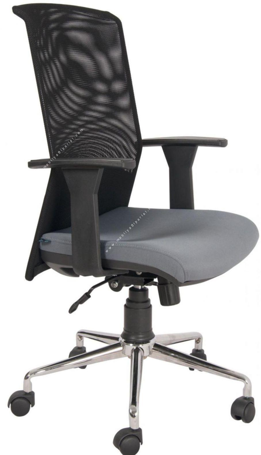 mose fileli krom çalışma koltuğu
