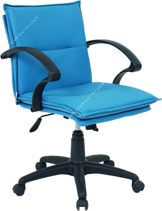 period minderli plastik çalışma koltuğu