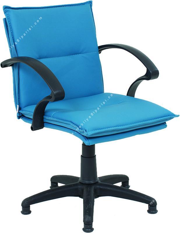 period plastik yıldız ayaklı misafir koltuğu