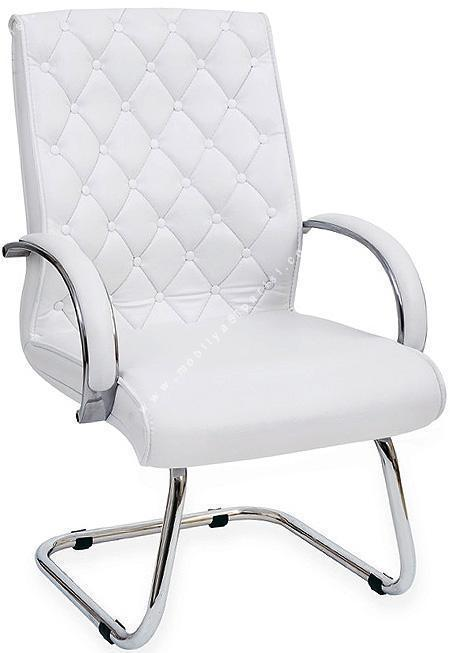 plus krom u ayak misafir koltuğu