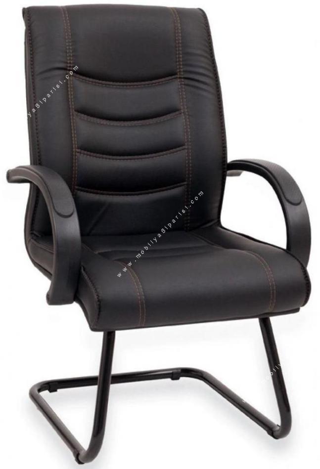pur plastik u ayaklı misafir koltuğu