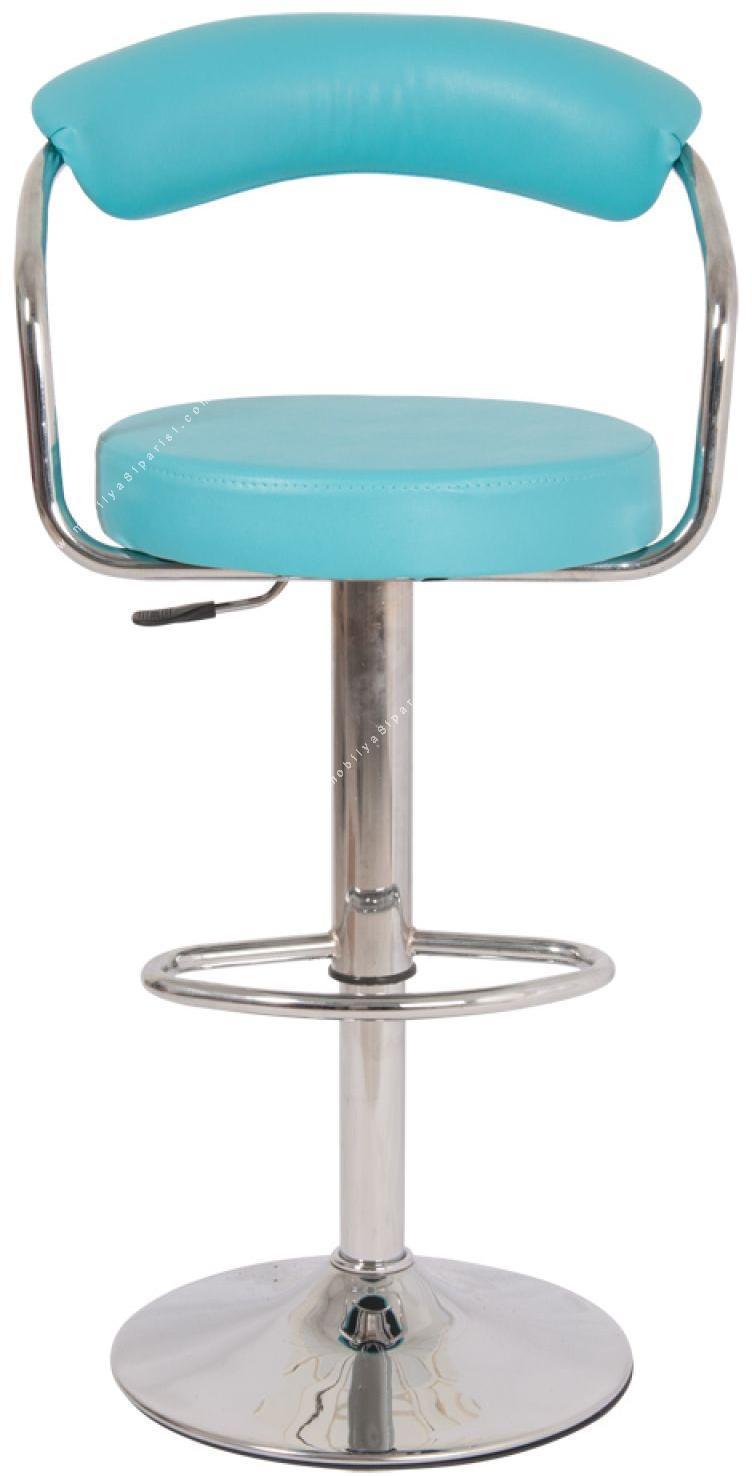 sanem flanş ayaklı bar sandalyesi