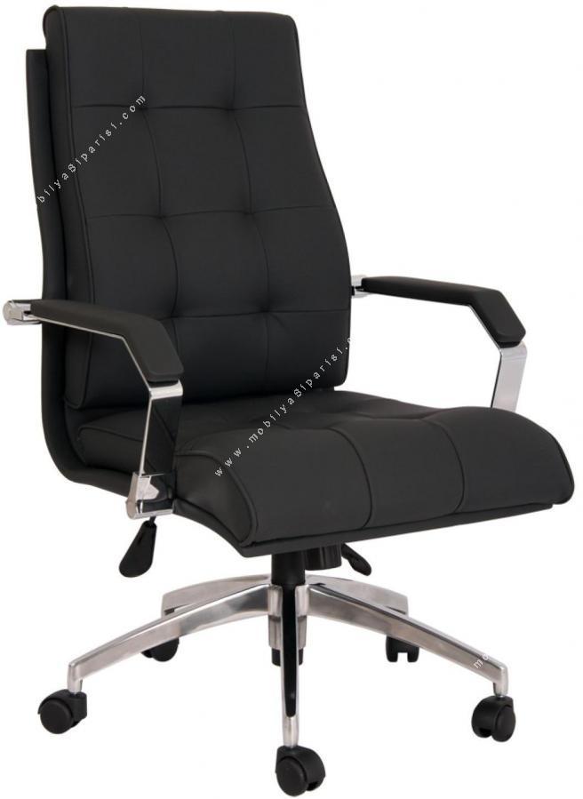 savano krom düğmeli yönetici koltuğu