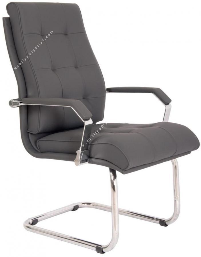 savano krom misafir koltuğu u ayaklı