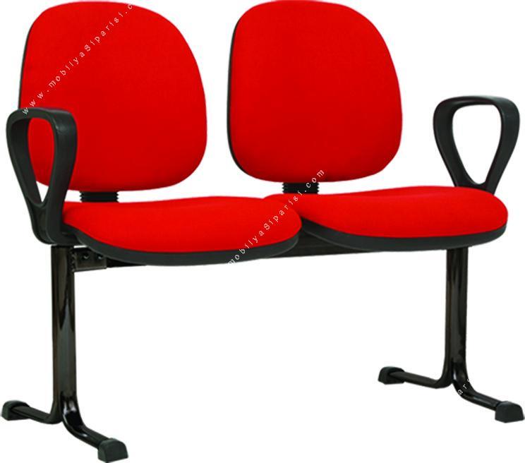 sekreter bekleme koltuğu ikili