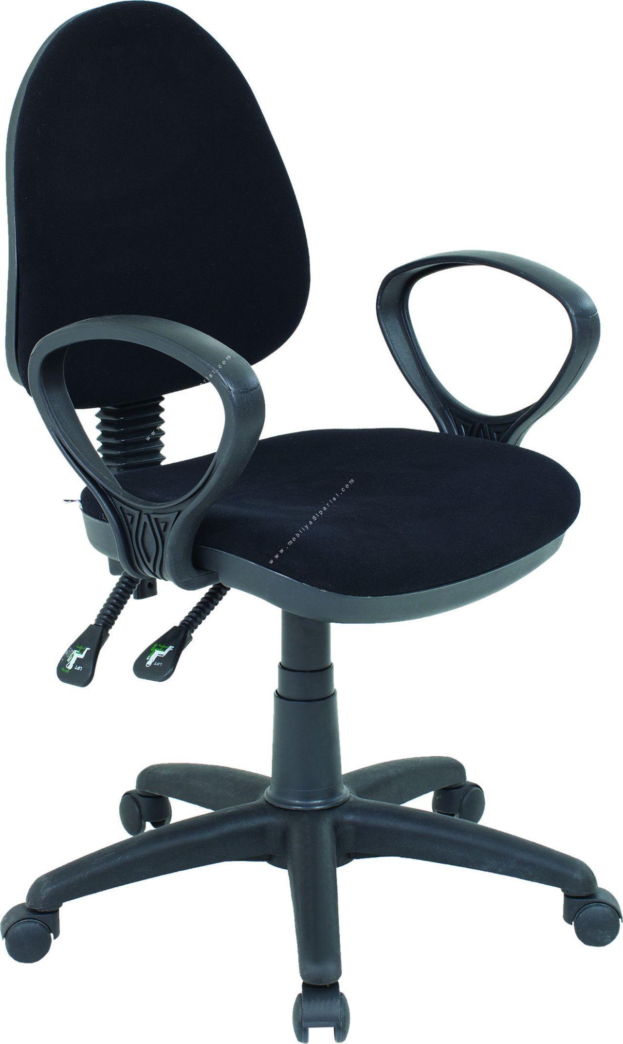 sekreter plastik çalışma koltuğu
