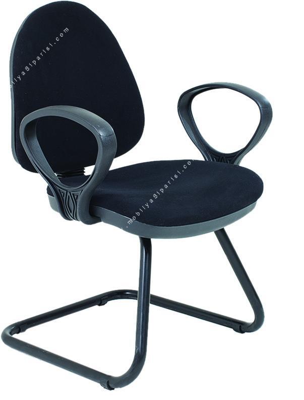 sekreter sabit ayaklı misafir koltuğu