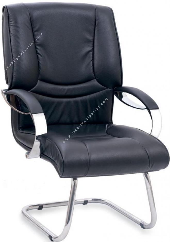 silk metal u ayak misafir koltuğu