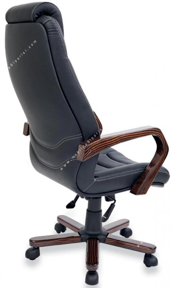 sone ahşap vip makam koltuğu