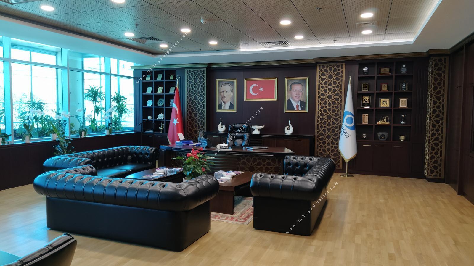 Sultangazi Belediyesi Makam Odası