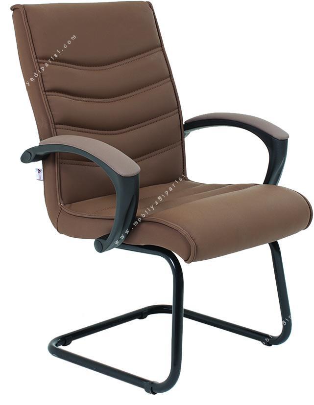 vertu u ayaklı plastik misafir koltuğu