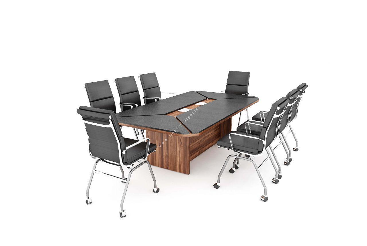 zanotta melamin toplantı masası 245cm